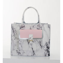 GRAFEA Casual Style Leather Elegant Style Totes