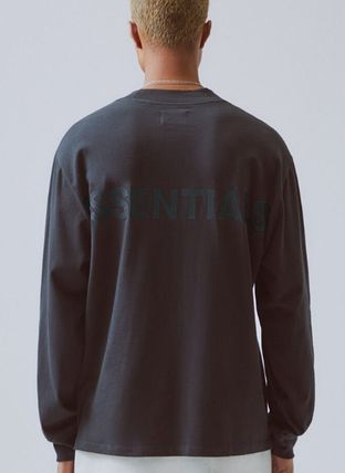 FEAR OF GOD ESSENTIALS Unisex Street Style Long Sleeves Oversized