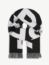 Burberry Knit & Fur Scarves