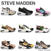 Steve Madden Zebra Patterns Leopard Patterns Platform Rubber Sole