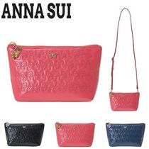 ANNA SUI Casual Style Leather Shoulder Bags