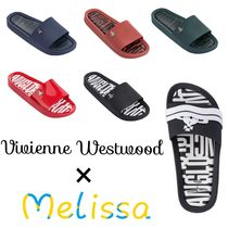 Vivienne Westwood Casual Style Unisex Street Style Plain Handmade Shower Shoes