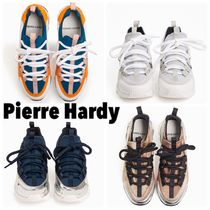 Pierre Hardy Casual Style Unisex Street Style Bi-color Plain Party Style