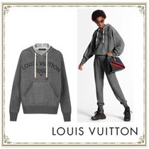 Louis Vuitton Casual Style Cashmere Long Sleeves Cashmere