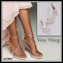 Vera Wang Plain Pin Heels Party Style With Jewels Elegant Style Shoes