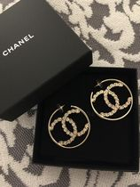 CHANEL Star Party Style Special Edition Silver Earrings