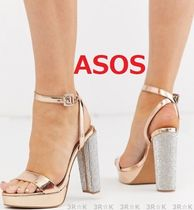 ASOS Open Toe Casual Style Party Style Chunky Heels