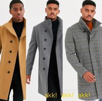 ASOS Plain Long Chester Coats