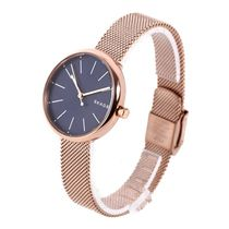 SKAGEN DENMARK Casual Style Round Quartz Watches Stainless Analog Watches