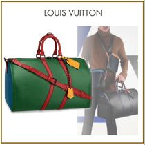 Louis Vuitton Unisex Blended Fabrics Carry-on Luggage & Travel Bags