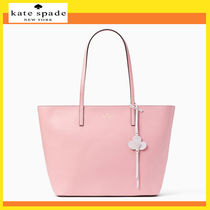 kate spade new york Flower Patterns A4 Plain Totes