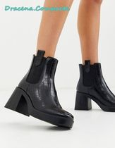 boohoo Casual Style Faux Fur Street Style Boots Boots