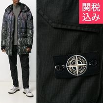 STONE ISLAND Tapered Pants Nylon Street Style Plain Cotton Tapered Pants