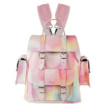 GRAFEA Casual Style 2WAY Leather Backpacks
