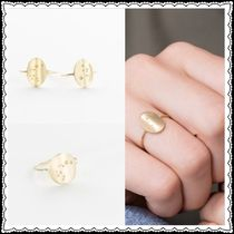GLDN Star Casual Style Handmade 14K Gold Rings