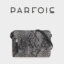 PARFOIS Casual Style Other Animal Patterns Shoulder Bags