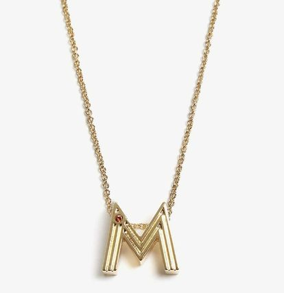 Casual Style Unisex Initial Party Style Elegant Style
