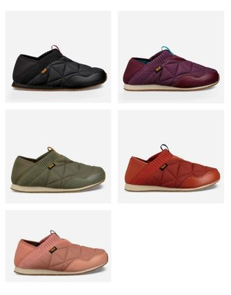 Plain Toe Moccasin Round Toe Rubber Sole Casual Style