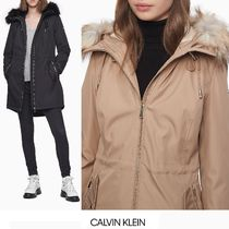 Calvin Klein Casual Style Street Style Plain Medium Office Style