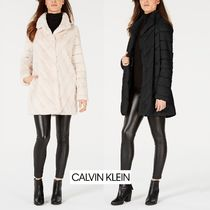 Calvin Klein Faux Fur Plain Medium Cashmere & Fur Coats