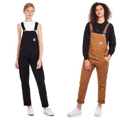 Dungarees Casual Style Street Style Dresses
