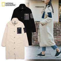 NATIONAL GEOGRAPHIC Unisex Nylon Street Style Plain Long Coats