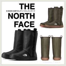 THE NORTH FACE Rubber Sole Unisex Street Style Plain PVC Clothing