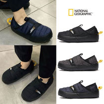 NATIONAL GEOGRAPHIC Unisex Street Style Plain Loafers & Slip-ons