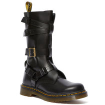 Dr Martens Casual Style Street Style Leather Mid Heel Boots