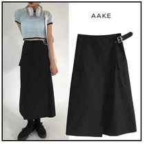 Casual Style Street Style Plain Skirts