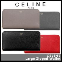 CELINE Street Style Leather Long Wallets