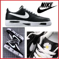 Nike Flower Patterns Unisex Street Style Collaboration Leather