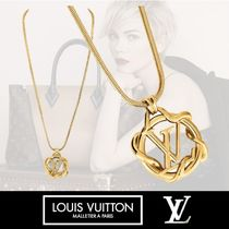 Louis Vuitton Costume Jewelry Casual Style Chain Party Style Office Style