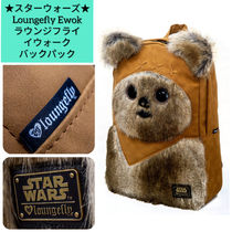 LOUNGE FLY Casual Style Faux Fur Collaboration Backpacks