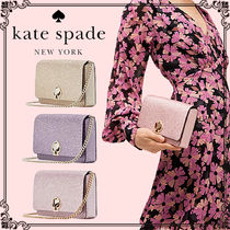 kate spade new york NICOLA Heart 2WAY Chain Plain Party Style Elegant Style Party Bags