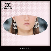 CHANEL Costume Jewelry Casual Style Blended Fabrics Party Style