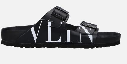 VALENTINO More Sandals Unisex Street Style Leather Sandals 2