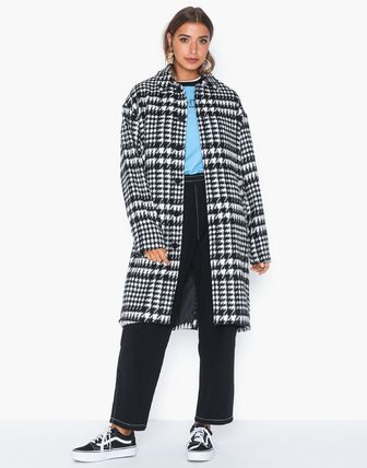 Other Plaid Patterns Zigzag Casual Style Unisex Street Style