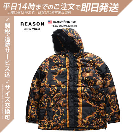 Flower Patterns Monogram Unisex Nylon Street Style