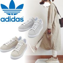 adidas STAN SMITH Casual Style Suede Low-Top Sneakers