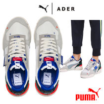 ADERERROR Suede Street Style Collaboration Low-Top Sneakers