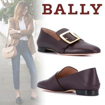 BALLY Casual Style Plain Leather Office Style Elegant Style