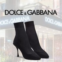 Dolce & Gabbana Casual Style Plain Pin Heels Party Style Elegant Style