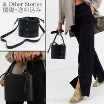 & Other Stories Studded Plain Leather Purses Shoulder Bags