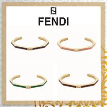 FENDI BAGUETTE Bangles Costume Jewelry Party Style Elegant Style Bold