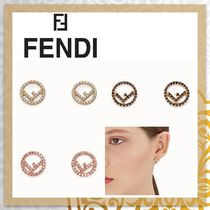 FENDI F IS FENDI Costume Jewelry Unisex Blended Fabrics Party Style