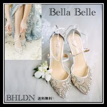 BHLDN Blended Fabrics With Jewels Shoes