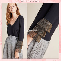 Anthropologie Unisex Blended Fabrics Street Style Collaboration Long