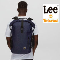 LEE Casual Style Unisex Street Style Collaboration Backpacks