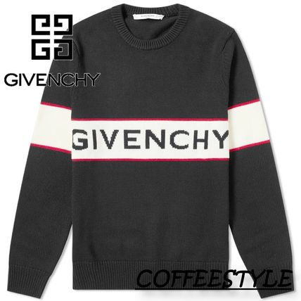 GIVENCHY Sweaters Logo Luxury Sweaters
